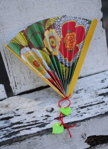Paper Fan Craft For Kids Japan Make Paper Fans With Pretty Scrapbooking Paper And Popsicle