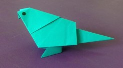 Paper Folding Crafts Instructions How To Make A Paper Bird Easy Origami Birds For Beginners Making