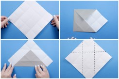 Paper Folding Crafts Instructions How To Make An Origami Elephant