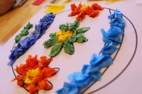 Paper Tissue Crafts Beautiful Easter Tissue Paper Craft School Time Snippets