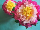 Paper Tissue Crafts How To Make A Tissue Paper Flower A Dazzling Tutorial
