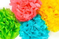 Paper Tissue Crafts How To Make Tissue Paper Flowers Four Ways Hey Lets Make Stuff