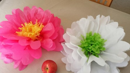Paper Tissue Crafts How To Make Tissue Paper Flowers Youtube