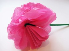 Paper Tissue Crafts Simple Steps To Craft Tissue Paper Flowers