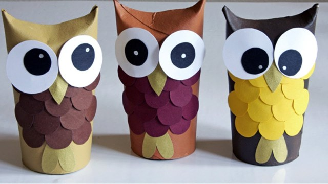 Paper Towel Roll Craft Crafts With Toilet Paper Rolls And Paper Towel Rolls Youtube