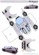 Printable Paper Crafts Templates Papercraft Car Image Result For Paper Model Car Templates Cars