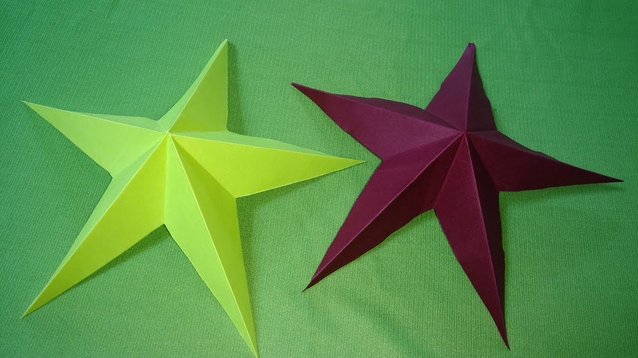 Simple Crafts Using Paper to Add New Accessory at Home Making A Star Using Paper How Make Simple Star Paper Crafts