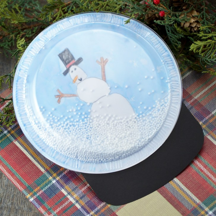 33+ Excellent Photo of Snow Globe Paper Craft