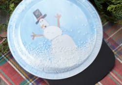 Snow Globe Paper Craft How To Make The Sweetest Snow Globe Craft