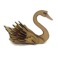 Swan Paper Craft Buy Paper Maker Kids Diy 3d Puzzle Swan Paper Craft Model Toys In