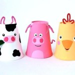 The Simple Paper Crafts For Toddlers Using Scissor Skill Easy Construction Paper Crafts Spring Chick Paper Craft Easy