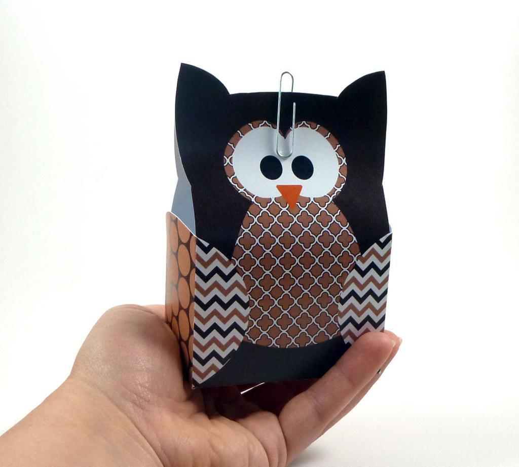 The simple paper owls crafts idea Owl Paper Craft Template Ducklingpond Owl Pattern 2 Owl Craft