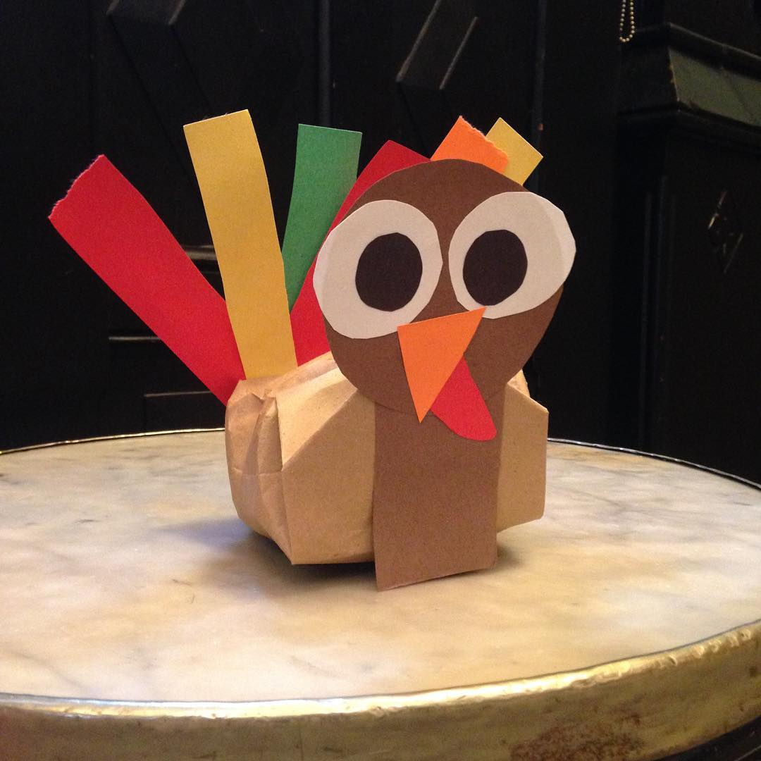 Toilet paper turkey craft for Thanksgiving decor 50 Quick Thanksgiving Crafts For Kids That Are Too Good To Miss Out On