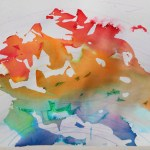 Ways On Making Tissue Paper Rainbow Craft Letter R Toddler Activities School Time Snippets