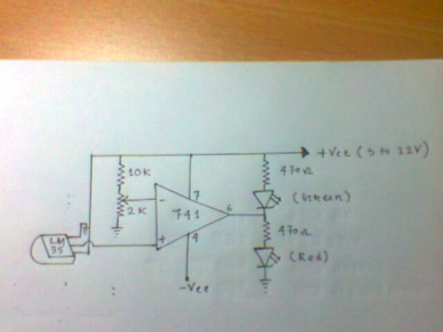 Temperature Voltage Conversion Circuit Of Thermistor Basiccircuit