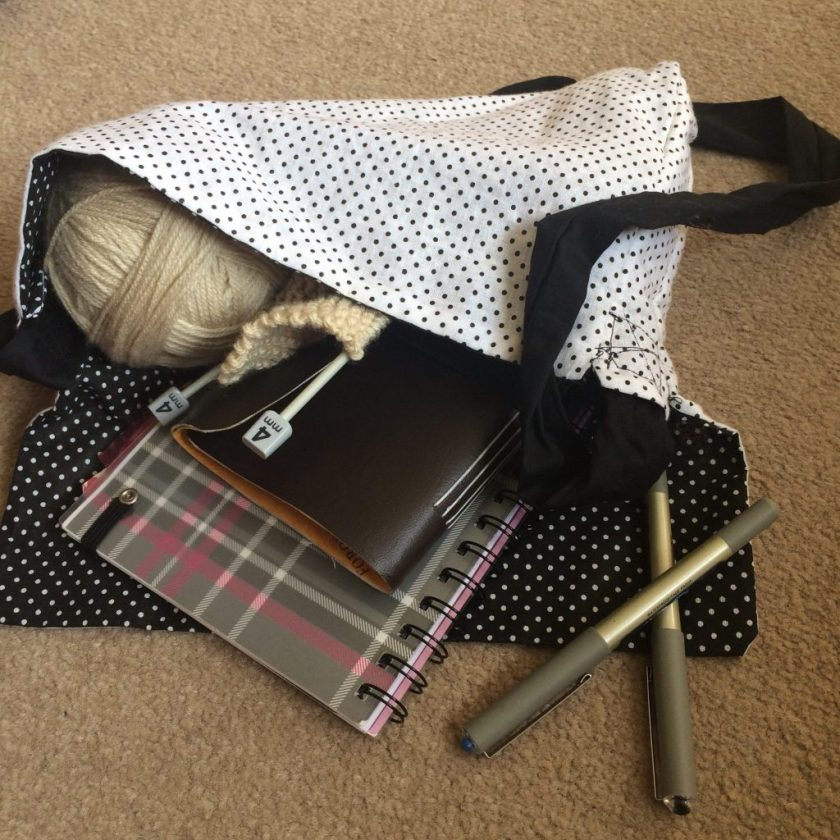 Craft Room and Beyond, Mini Tote Fat Quarter Projects