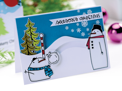Kinetic Christmas Cards Free Craft Project Card Making