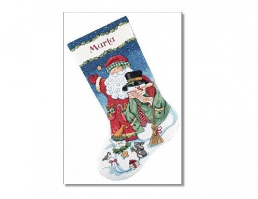 Snowman Stocking Kit