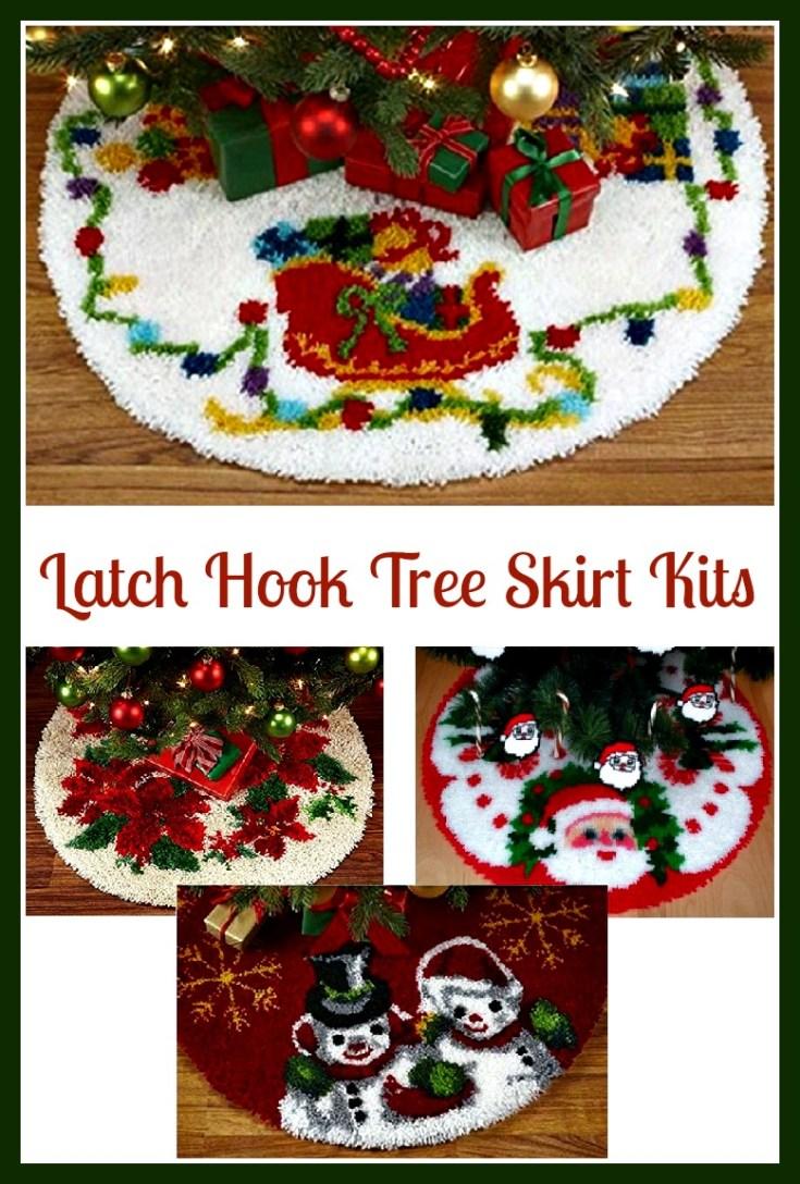 Latch Hook Tree Skirt Kits