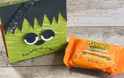 Frankenstein Trick or Treat Holder Perfect for Party Favors