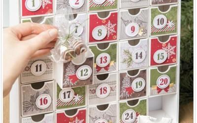 Countdown to Christmas Advent Calendar Kit Class