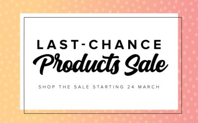Up to 75% Off Last Chance Products