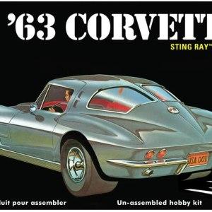 AMT 1963 Chevy Corvette Model Car