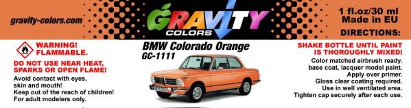 BMW Colorado Orange