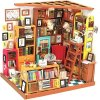 Rolife DIY House Sam's Study Room 3D Puzzle