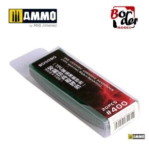 Die-Cutting Adhesive Sandpaper (TPU Material) 20pcs 400