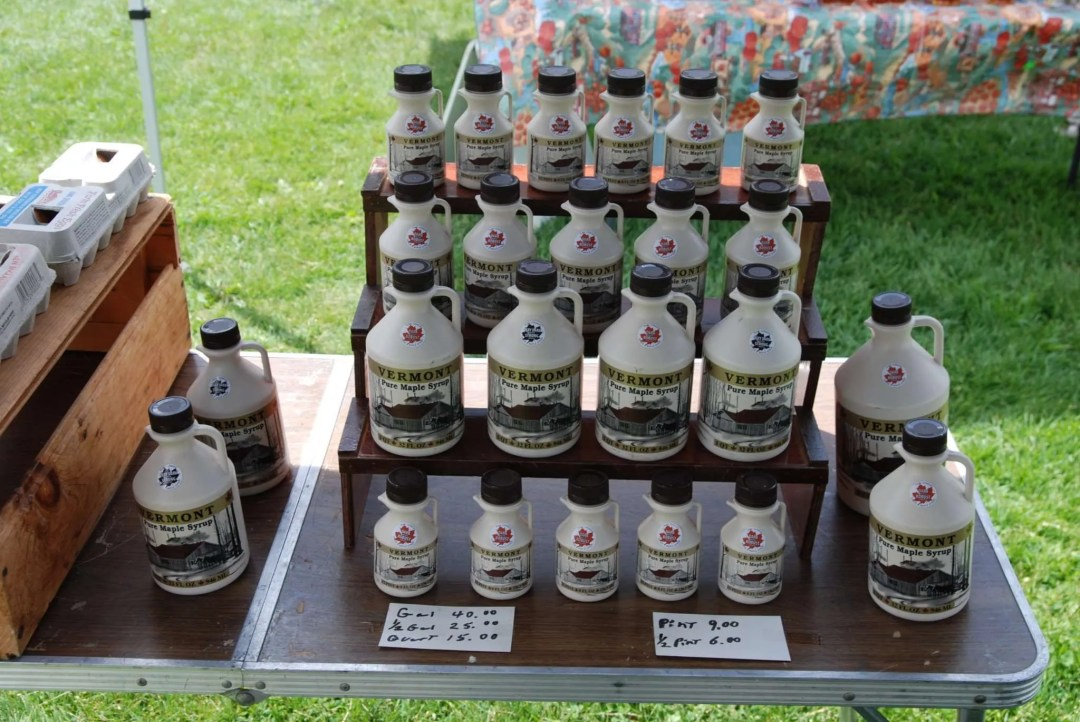 Phil Beaudry - Vermont Maple Syrup - Craftsbury Farmers Market