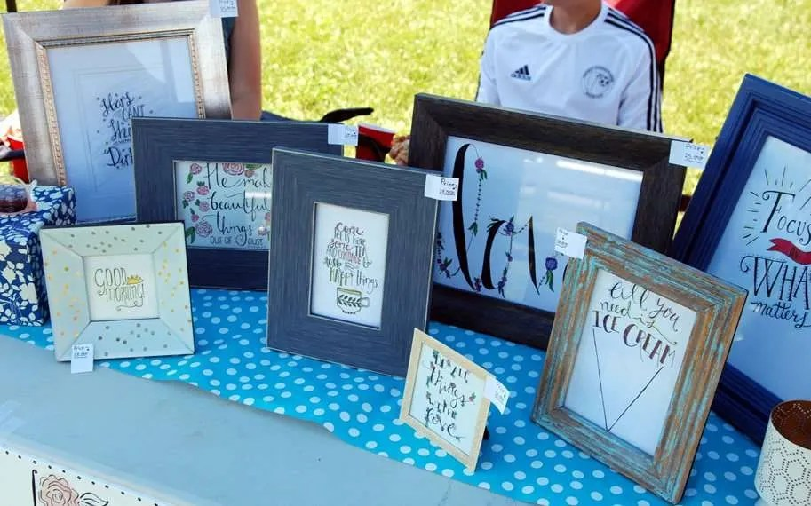 Emily Anne's Hand Lettered Art - Craftsbury Farmers Market