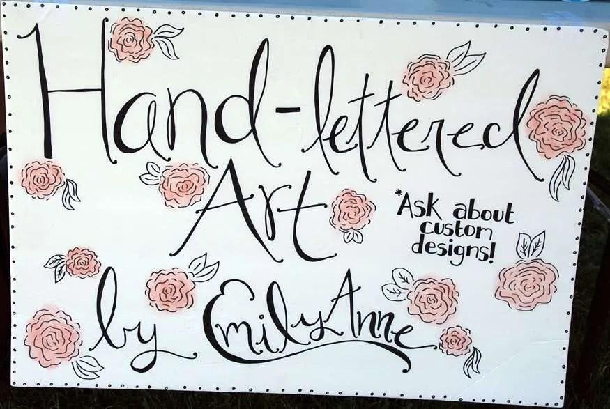 Emily Anne's Hand-Lettered Art