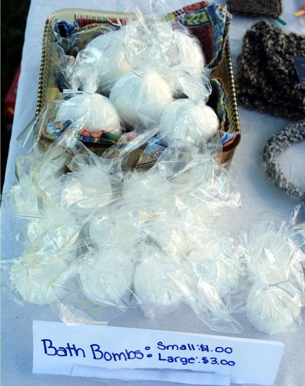 Style & Sweets bath fizzies by Olivia Milholland - Craftsbury Farmers Market