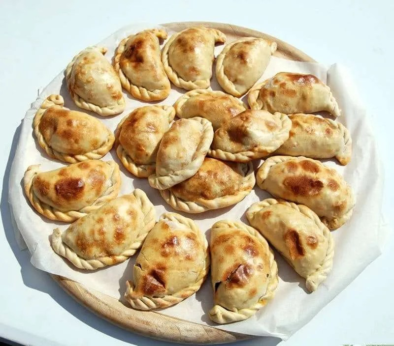 Empanada pastries by chef Alejandro Angio - Craftsbury Farmers Market