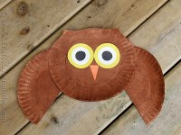 Paper Plate Owl Craft - Crafts by Amanda