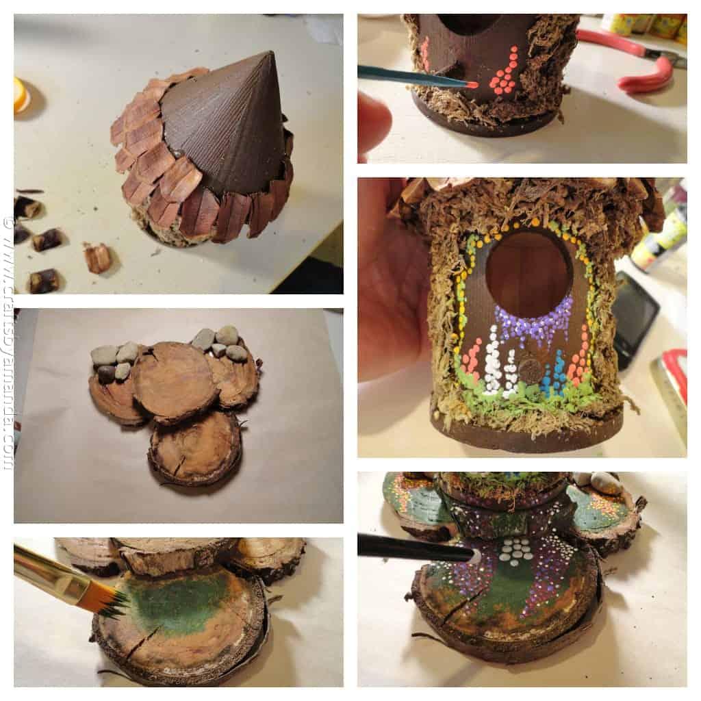 Make A Fairy House Crafts By Amanda