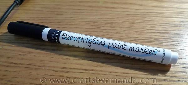 decoart glass paint marker