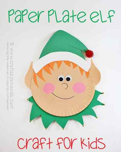 Elf crafts for kids 15 fun ideas letters from santa for Elf shelf craft show