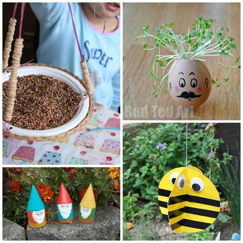 Kid's Garden Crafts 28 Creative Ideas For The Little Ones