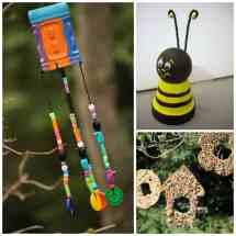 Kid' Garden Crafts 28 Creative Ideas Little