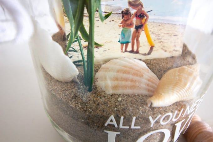 Vacation Photo Jar Beach Craft Crafts By Amanda