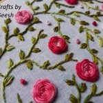 Rose Vine Hand Embroidery Tutorial Crafts By Geesh
