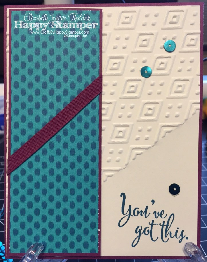 Bohemian, You've Got This, Stampin' Up