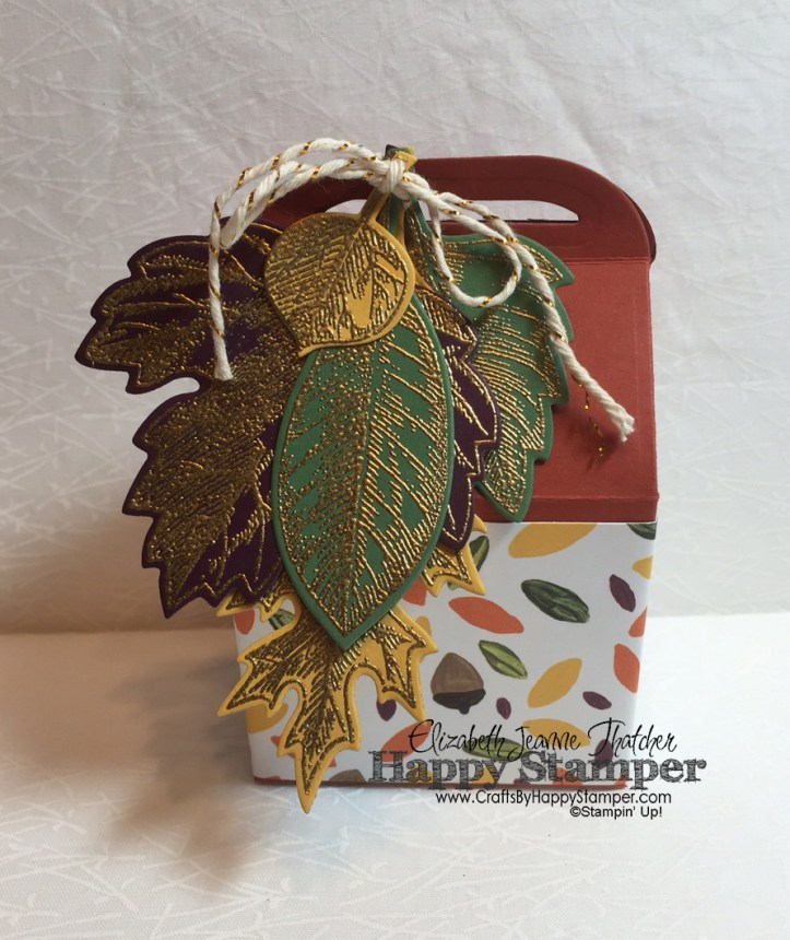 Baker's Box, Vintage Leaves, Into the Woods, Stampin Up