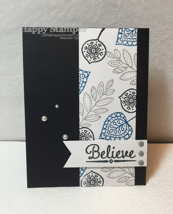 Lighthearted Leaves, Stampin Up