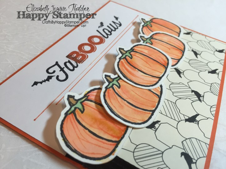 haunt ya later, stampin up, six sayings