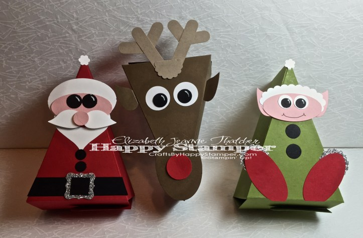 Christmas Critters, Cutie Pie Thinlits, Stampin Up