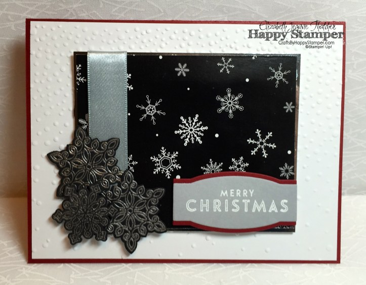 Stampin Up, Flurry of Wishes, Project Life, One Sheet Wonder, Winter Wonderland