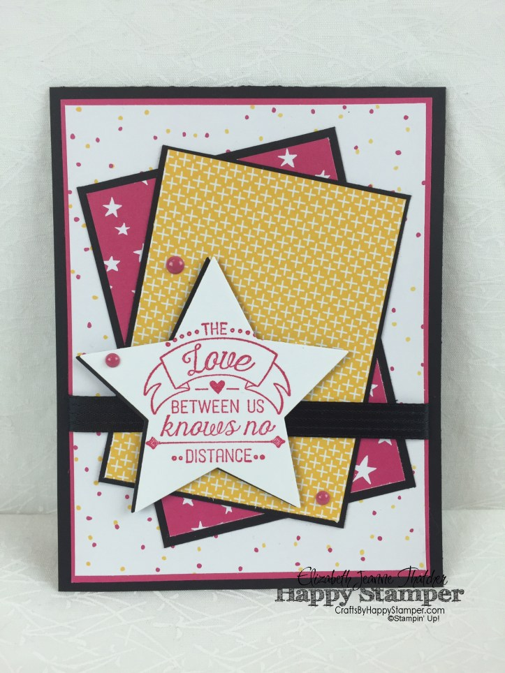 Stampin Up, OSAT, It's My Party, Star Framelits, Going Global
